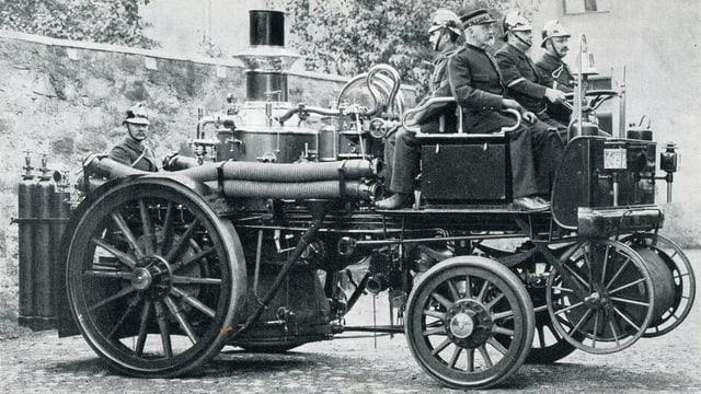 Pumpa a vapur sin automobil, 1905