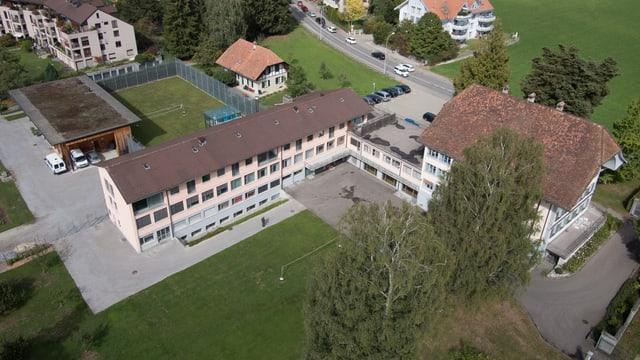 Das Jugenheim Lory von oben.