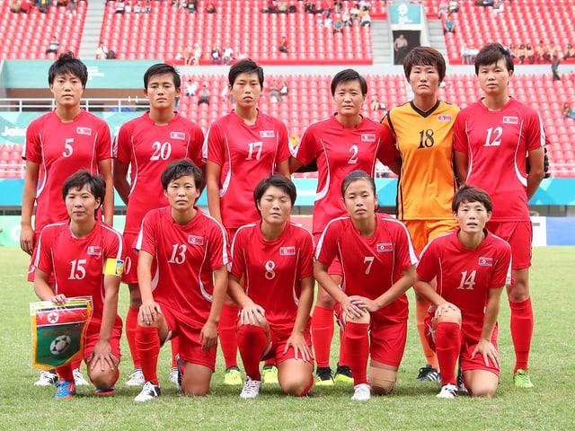Nordkoreanische Frauen-Nati