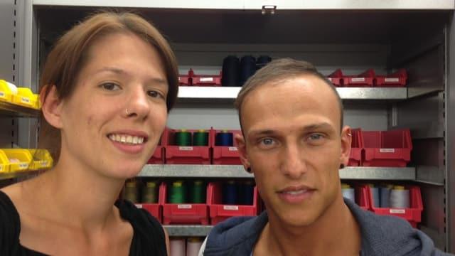 Nathalie Büchi und Giuseppe Trovato.