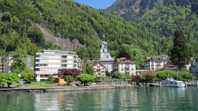 Die Luzerner Gemeinde Vitznau