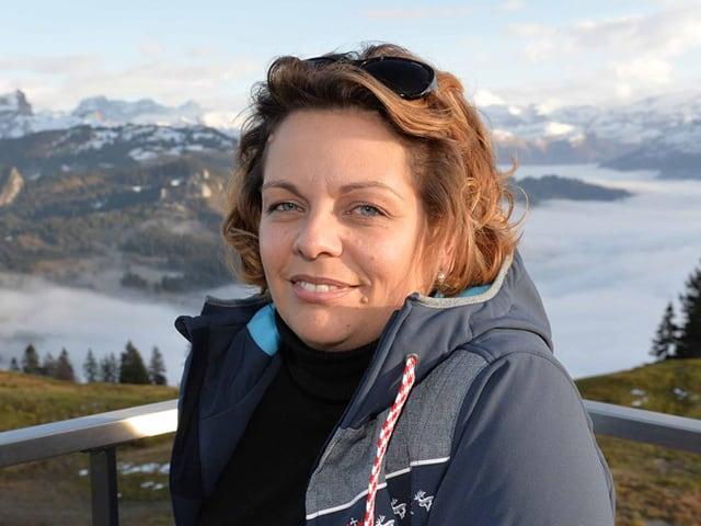 Nathalie Henseler, Schwyzer Ständeratskandidatin und Verwaltungsratspräsidentin der Rotenfluebahn.