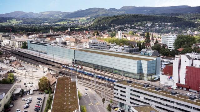 Visualisierung Bahnhof Aarau