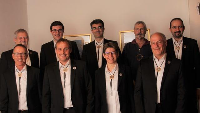 Il comité d'organisaziun dal Tir Chantunal Grischun Surselva 2018.