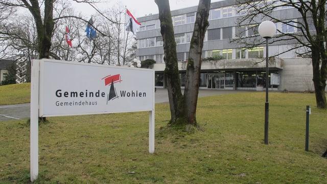 Gemeindehaus von Wohlen