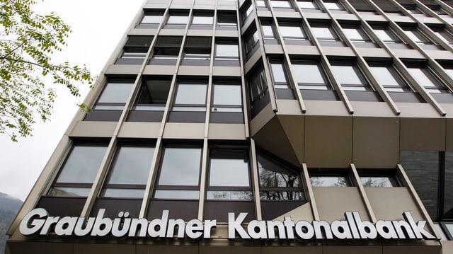 Fatschada Banca Chantunala Grischuna.