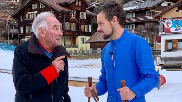 Fridly Wyss und Michel Birri