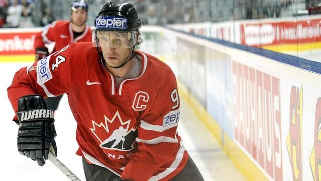 Ryan Smyth: Star im kanadischen Spengler-Cup-Team.