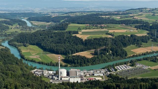 L'ovra atomara Mühleberg ord l'aria.