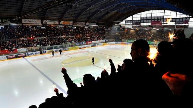 Lichtermeer im Stadio Kleinholz