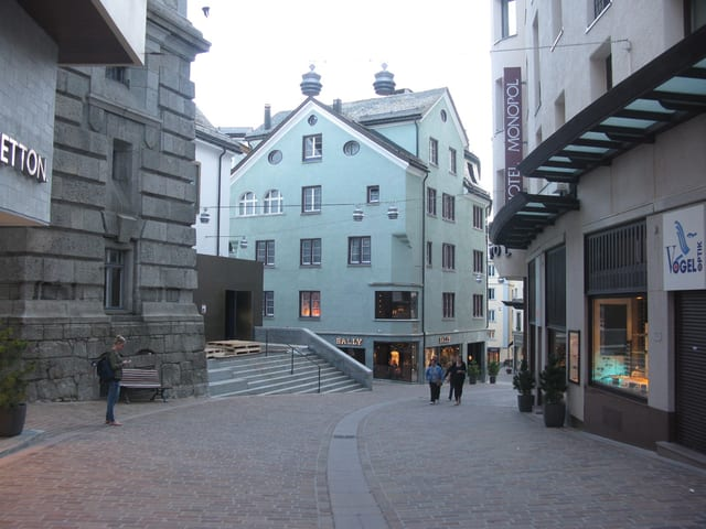 Fussgängerzone St. Moritz
