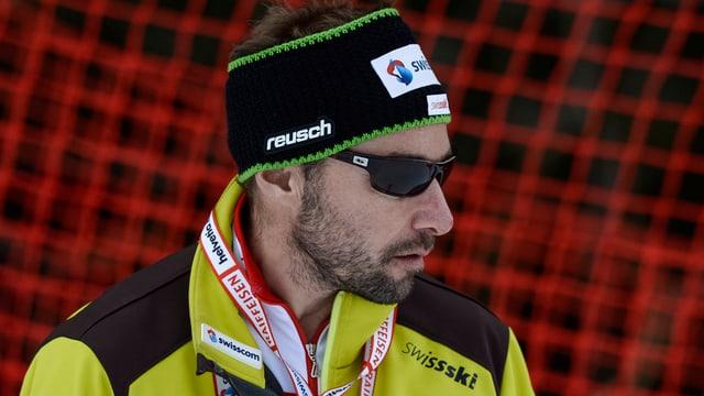 Steve Locher en giacca da Swiss Ski