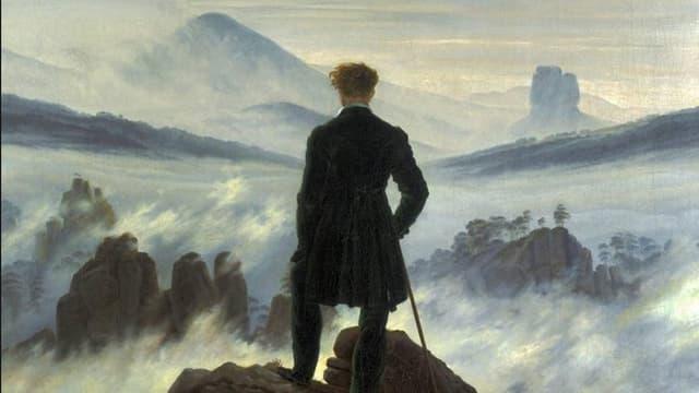Caspar David Friedrich, Wanderer über dem Nebelmeer)