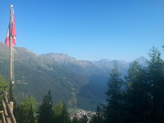 Panorama da la Chamanna Bellavista.