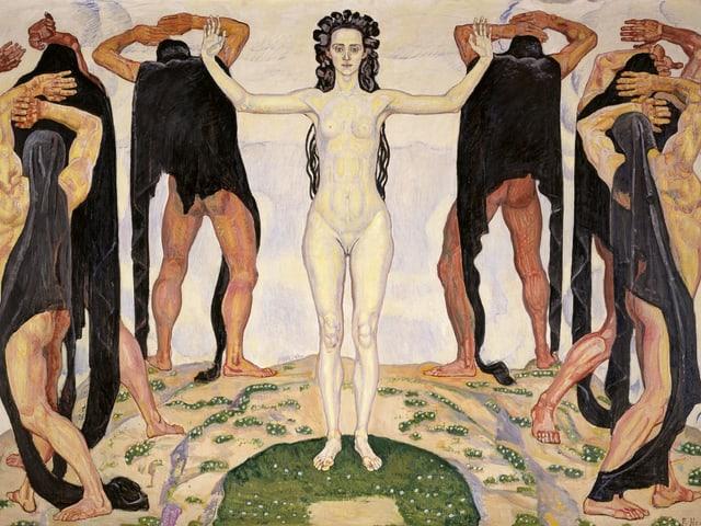 Ferdinand Hodler: Die Wahrheit (1903)