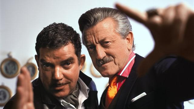 Boris Blank und Dieter Meier