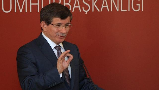 Ahmet Davutoglu.