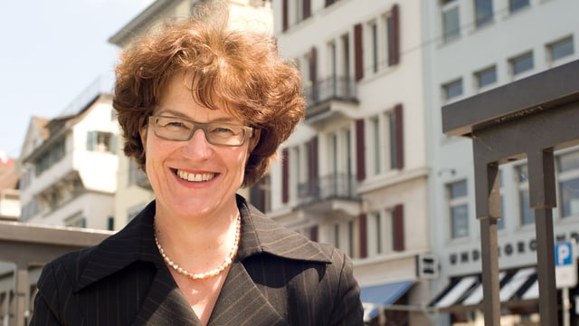 Die Grüne Zürcher Stadträtin Ruth Genner