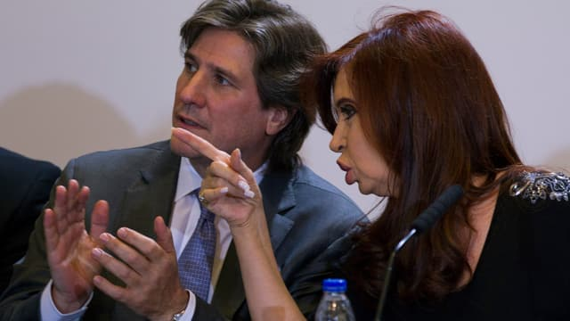 Boudou und Kirchner