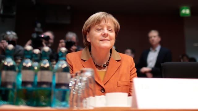 Merkel vor dem Ausschuss