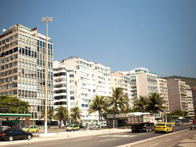 Die Wolkenkratzer von Rio de Janeiro.