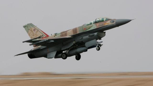 Ein Flugzeug der israelischen Luftwaffe.