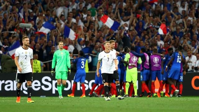Deutschland nach dem Halbfinal-Out