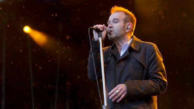 Züri Wests Kuno Lauener bei seinem letzten Auftritt auf dem Gurten (2012)