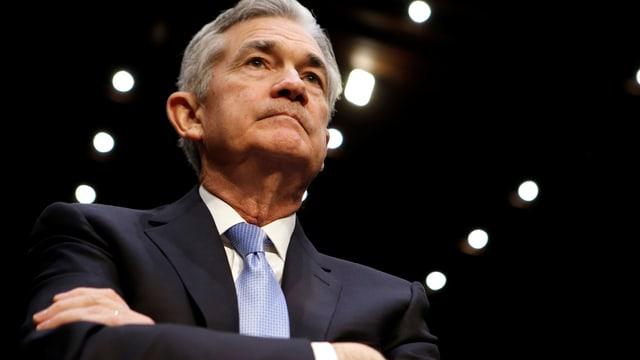 Jerome Powell wartet Ende November 2017 im US-Senat auf seine Nomination für das Amt des neuen Notenbank-Chefs.