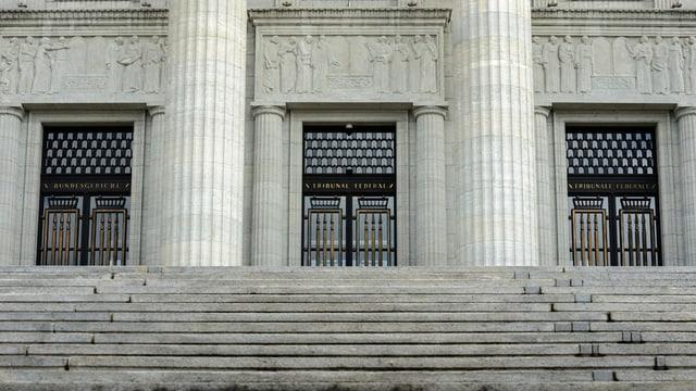 Eingang des Bundesgerichts.