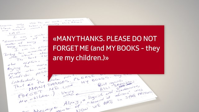 Zitat aus dem Brief von Asli Erdogan an SRF