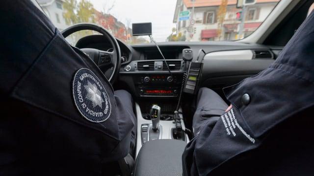 guardias da cunfi nen auto sin patruglia