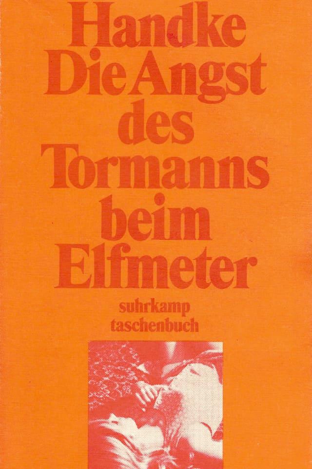 Buchcover zu Peter Handkes «Die Angst des Tormanns beim Elfmeter»