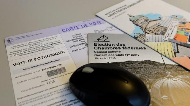 Unterlagen zu E-Voting