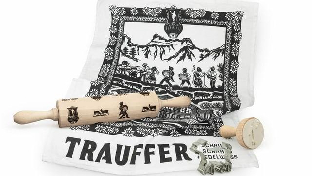 Trauffer Wallholz und Guetzli-Form