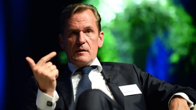 Mathias Döpfner, Konzernchef von Axel Springer, am SwissMediaForum.
