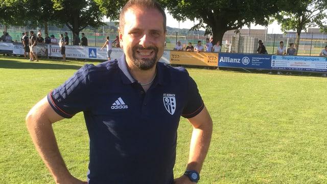 Marco Cecere auf dem Spielfeld