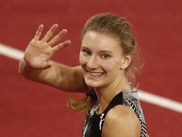 Ajla del Ponte gewinnt nach dem Diamond League Meeting in Monaco auch die 100 m in Polen.