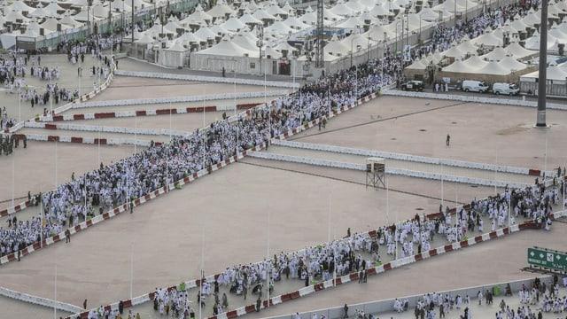 Die muslimische Wallfahrt nach Mekka soll dieses Jahr wieder unter Auflagen stattfinden (Archivbild von 2018).