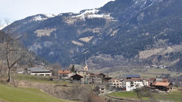 La vischnanca da Donat en Val Schons.