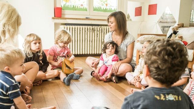Das Chinderhuus in Steckborn hat das QualiKita-Label des Verbandes Kinderbetreuung Schweiz erhalten. Im Bild die Krippenleitern Beatrice Schneider.