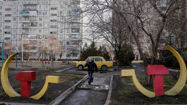 Vista sin in abitadi da Mariupol.
