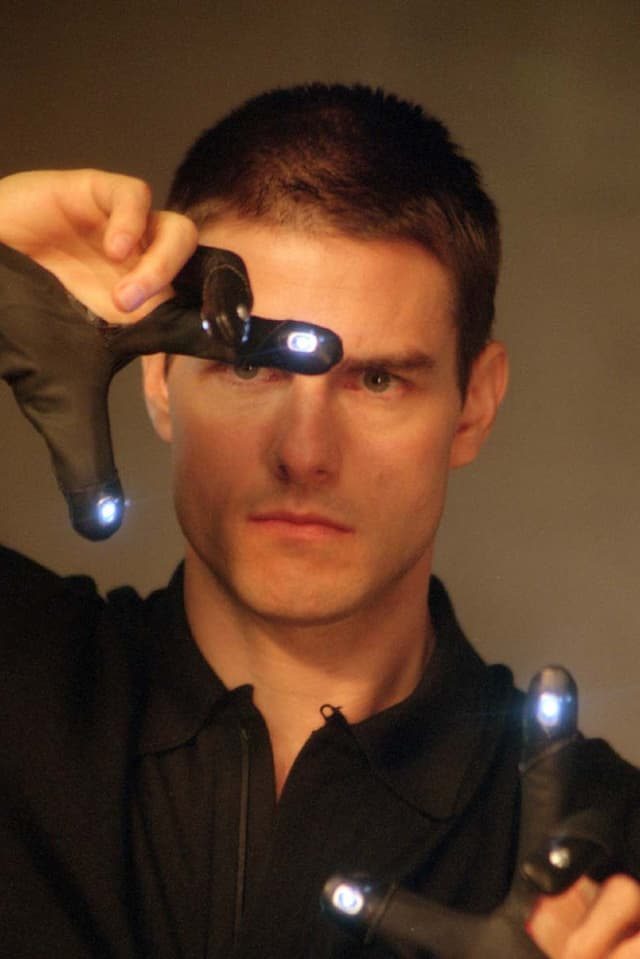 Tom Cruisei in Minority Report