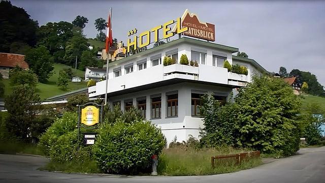 Motel-Gebäude