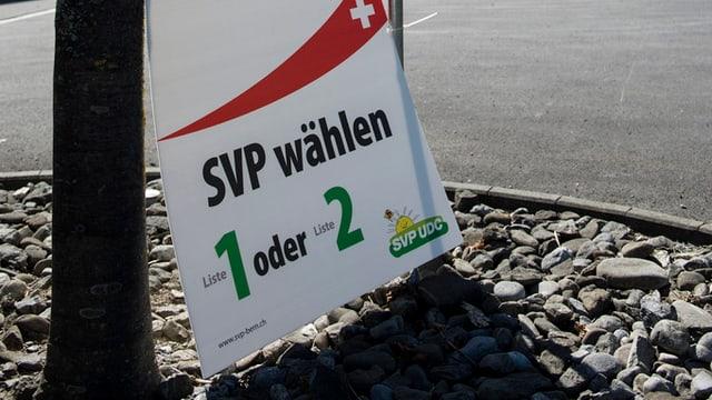 Die Berner SVP legt zu und gewinnt einen Sitz (Artikel enthält Audio)