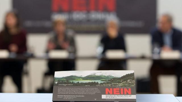Flyer zur Abstimmung Graubünden 2020