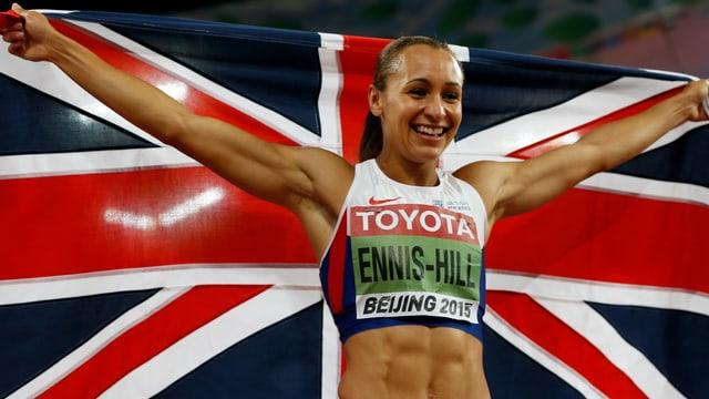 Die britische Weltmeisterin Jessica Ennis-Hill.