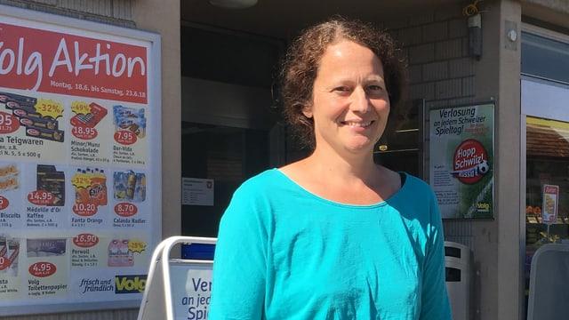 Ursula Ganz, frisch gewählte Gemeinderätin in Volken