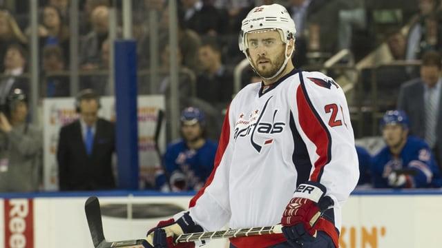 Verteidiger Kevin Shattenkirk (28) stiess erst Ende Februar aus St. Louis zu den «Caps».