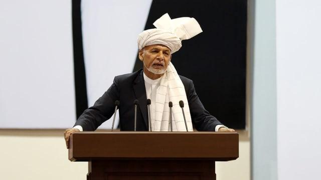 Präsident Ashraf Ghani
